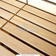 Изделия погонажные из различных видов древесины фото