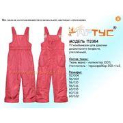 Полукомбинезон для девочки дошкольного возраста модель: П2354 (минимальный заказ коллекции от 50 единиц) фото