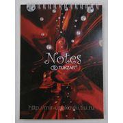 Блокнот A5 Notes TUKZAR, гребень, тв. ламинир. обложка, 60л /28