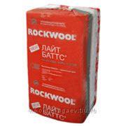 Минераловатная теплоизоляция на основе базальтовых пород ROCKWOOL Лайт Баттс фото