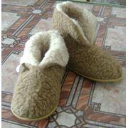 Обувь домашняя Чуни мужские на подошве фото