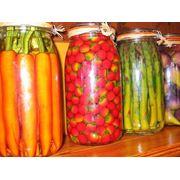 Консервы овощные стерилизованные фото