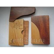 Футляр для визиток из дерева фото