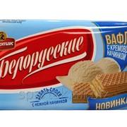 """Вафли """"Белорусские"""" с кремовой начинкой фото"""