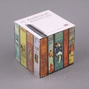 """Блок листов для записей """"библиотека"""" 9*9 см.800 листов (850438) фото"""