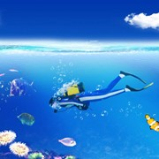 Подводно-технические работы по обслуживанию водных путей и шлюзов фото
