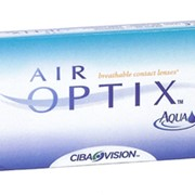 Линзы контактные Air Optix Aqua фото