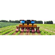 Машины навесные для внесения минеральных удобрений фото