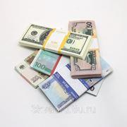 Деньги номиналами 50р,100р,500р, 50$,100$,100 euro фото