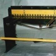 Ножницы гильотинные ручные НГ1215 фото