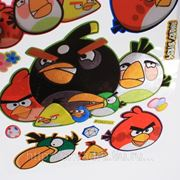 Наклейки Angry Birds фото