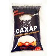 Сахар крупнокристаллический фасованный в бумажные пакеты по 1 килограмму фото