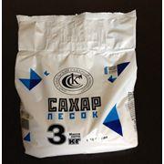 Сахар мелкокристаллический фасованный по 3 кг фото