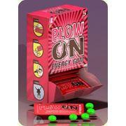 Энергетическая жевательная резинка PlowOn Energy gum фото