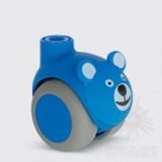 Колесо мебельное, мишка синий 5520 PJI 050L51-10 SMILES OURS фото