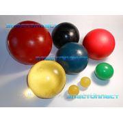Полиуретановые шары для очистки нефтепроводов. фото