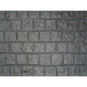 Формы для производства фасадного камня из АВС и ПВХ пластика фото