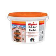 Краска фасадная Alpina Fakturfarbe фото