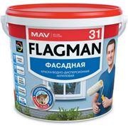 Краска ВД-АК-1031 фасадная FLAGMAN 31 (срок службы более 10 лет) фото