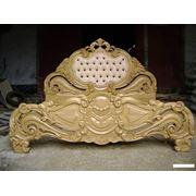 Мебель резная из дерева фото