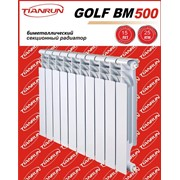 Радиаторы биметаллические марки Golf BM фото