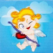 Набор-магнит для вышивания бисером FLA-083 фото