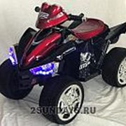 Детский электроквадроцикл BARTY M004MP красный глянец фото