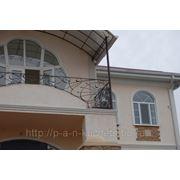 Кованные балконные ограждения фото