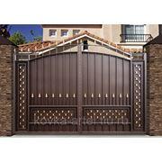 Ворота кованые, художественная ковка фото