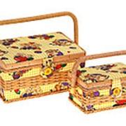 Набор шкатулок для рукоделия Polite Crafts & Gifts из 2 шт. 592-048 фото