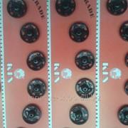 Кнопки пришивные металлические Koh-i-noor d 13мм фото