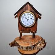 Часы из дерева ЧД 008 фото