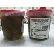 Огурцы соленые затаренные 2 с (н/ст) фото