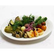 Овощи солено-квашеные фото