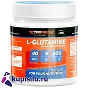 Аминокислота L-Glutamin 200 гр. Pureprotein фото