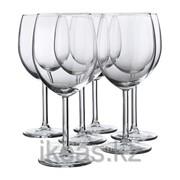 Бокал для красного вина, прозрачное стекло СВАЛЬК фото