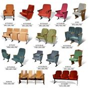 Кресла для зрительных залов фото