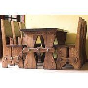 Мебель из массива: для баров ресторанов дома квартиры. фото