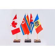 Флаги и флажки настольные фото