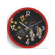 Часы настенные с логотипом фото