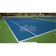 Корты теннисные фото