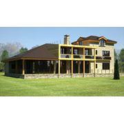 Уникальный дом площадью - 450 м2 в викторианском стиле фото