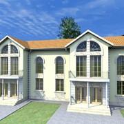Проект многоквартирного дома ASM-5487 фото
