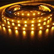 Светодиодная лента SMD3528-300Led-12V,4,8W,IP65,теплая фото