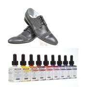 Немецкая краска для обуви Color темно- серый фото