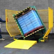 Инвертер (инвертор, кантователь, ротатор) паллет (поддонов фото