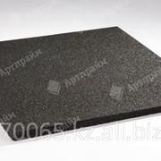 """Резиновая плитка """"Артпрайм"""" 500*500*16, серый фото"""