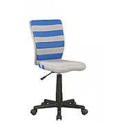 Кресло компьютерное Halmar FUEGO (сине-серый) фото