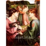 Картина на холсте Люди и образы Dante gabriel rossetti фото