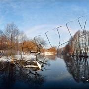 Фоторабота Радуга зимой фото